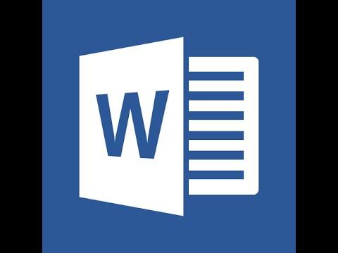 Microsoft Word 2016 Part 8 View Tab