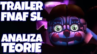 TRAILER FNAF SISTER LOCATION - ANALIZA I TEORIE