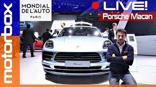 Porsche Macan 2019 | Live dal salone di Parigi 2018