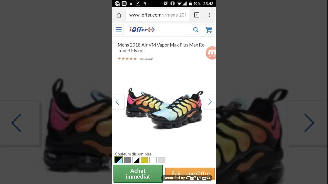 ac1c8e48d57 Ioffer Nike Vapormax Plus tn Flyknit  97 - YouTube