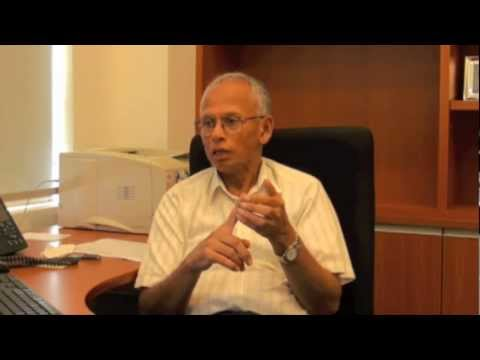 Interview with International Water Expert Prof. Asit Biswas