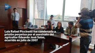 Condenaron a Piccinetti a prisión perpetua por el asesinato del agricultor