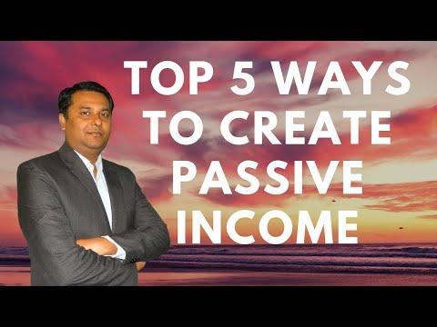 top-5-ways-to-create-passive-income-2018-(hindi)