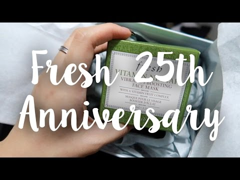 Fresh's 25th Anniversary Party + NEW MASK LAUNCH | JAMIETYJ VLOG