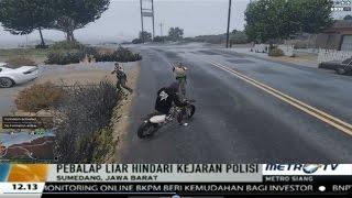 GTA 5 Online Indonesia - Obrakan Polisi Masuk Berita