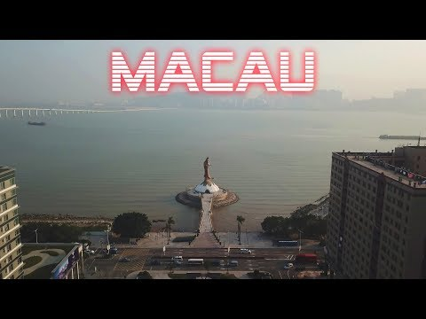 Macau Travel by Drone 2017