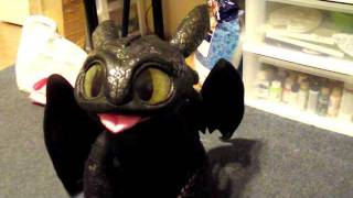 New toothless plushie