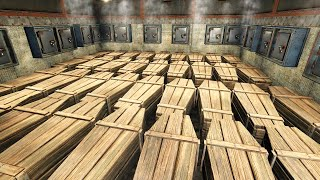 I FOUND a CLĄNS HUGE SECRET LOOT ROOM UNDERNEATH the FOUNDATIONS!? - Rust Raiding