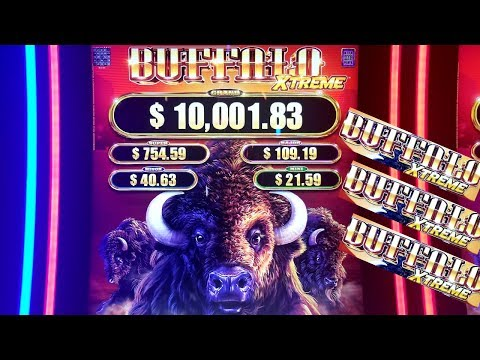 ★G2E 2018★ NEW Buffalo XTREME Slot Machine PREVIEW w/NG Slot | Global Gaming Expo 2018