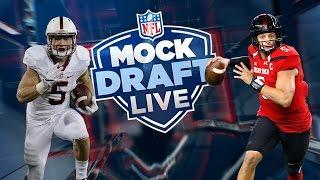 2017 NFL Mock Draft version 4.0 | Daniel Jeremiah | Mock Draft Live | NFL Free HD Video