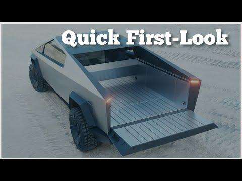 Tesla Cybertruck - First-Look Review: Features, Release ...