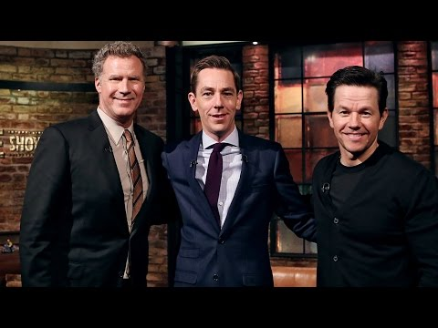 Mark Wahlberg & Will Ferrell on their Irish roots | The Late Late Show | RTÉ One