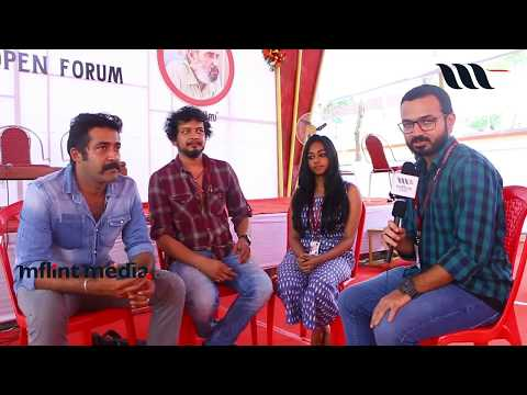 22nd IFFK 2017 || TWO PERSONS / RANDUPER movie team talking about IFFK