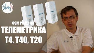 GSM розетки Телеметрика. Обзор и демонстрация
