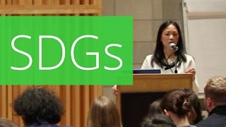 Sustainable Development Goals (SDGs) - Minh-Thu Pham (United Nations Foundation) thumbnail