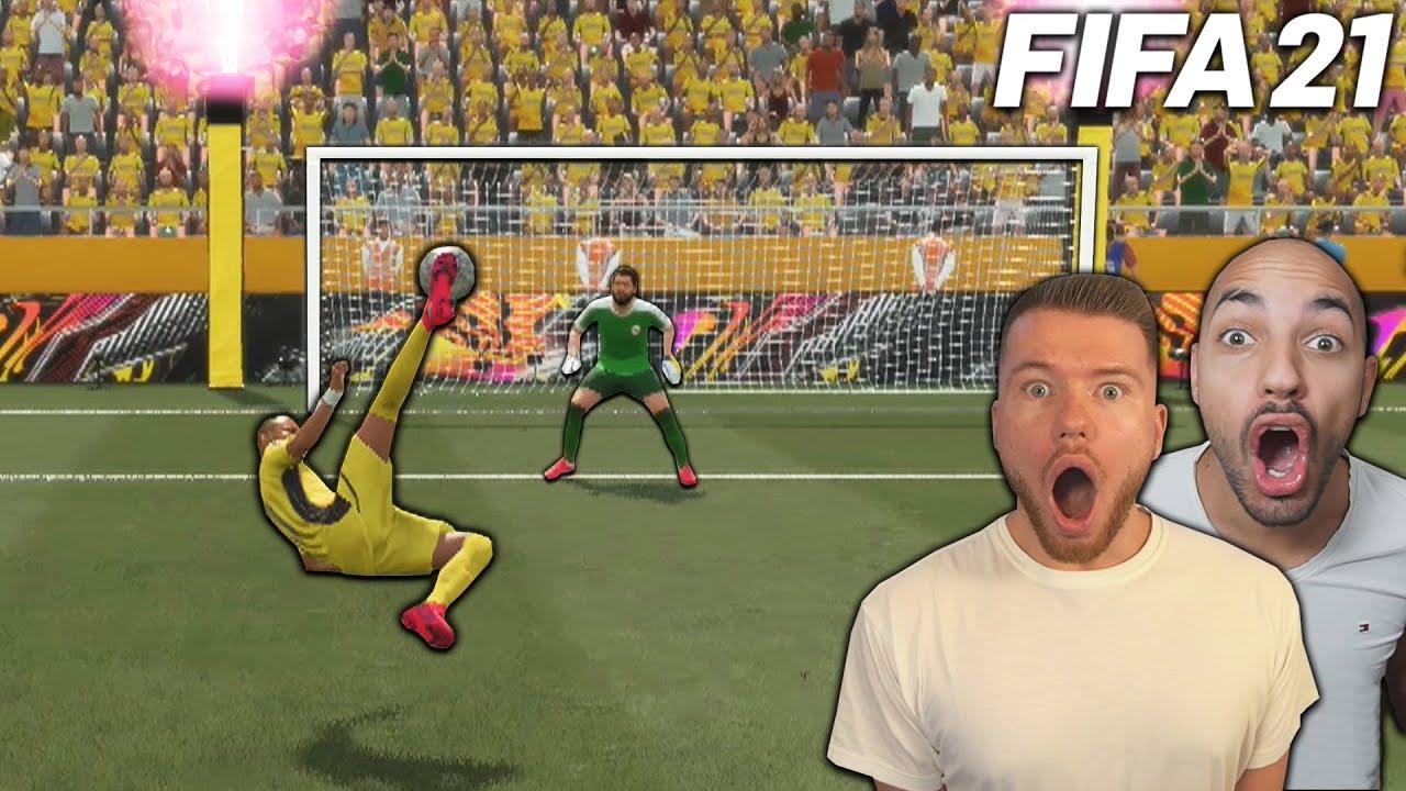 FIFA 21: FALLRÜCKZIEHER & TRICKSCHUSS CHALLENGE vs MOAUBA ?? FIFA 21 ULTIMATE TEAM