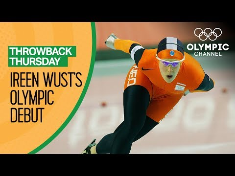 The First Olympics of Speed Skating Star Ireen Wust | Throwback Thursday