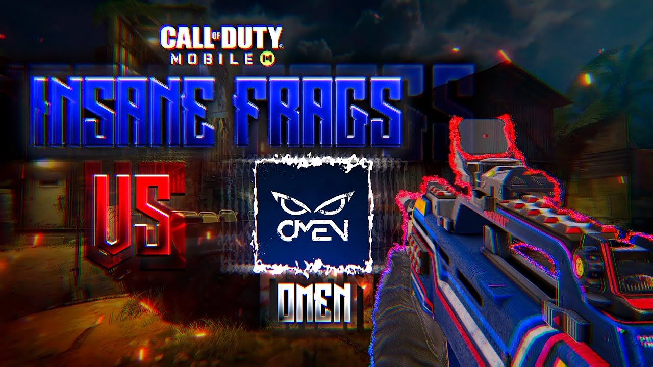 CoDM Debut | Insane Frags VS Omen Elite | New IGN?!?