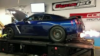 BCP Tuned- 660whp GTR on Dyno with commentary