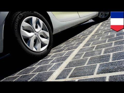 Prancis berencana untuk membuat jalanan dengan panel surya - TomoNews