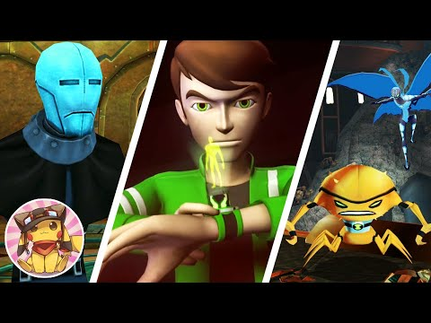 BEN 10 Alien Force Vilgax Attacks - Part 4 - Encephalonus IV - Movie Game Walkthrough (2009) [1080p]