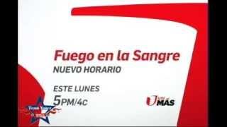 Eduardo Yañez en Fuego en la Sangre por Unimas ,Cambio de horario 5pm 4c