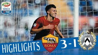 Roma - Udinese 3-1 - Highlights - Giornata 6 - Serie A TIM 2017/18