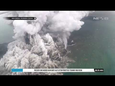 PVMBG Belum Bisa Pastika Penyebab Tsunami Akibat Erupsi Gunung Krakatau- IMS