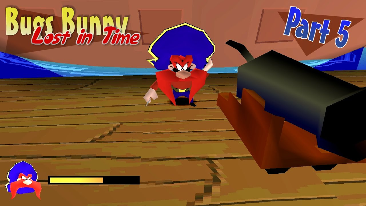 Let 39 s play bugs bunny lost in time part 5 cannon fight with sam youtube - Bugs bunny pirate ...
