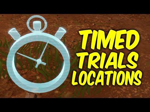 Fortnite Time Trials Locations.Week 3 Challenges - SEASON 6