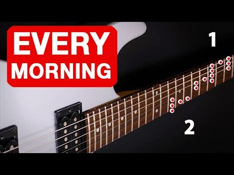 Blues Rock Pattern You Should Do EVERY Morning