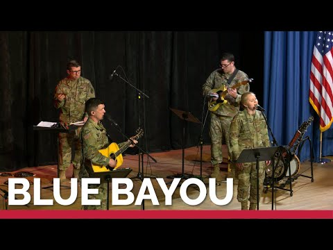 """""""Blue Bayou"""" by the U.S. Army Band's bluegrass ensemble, Country Roads (4K)"""