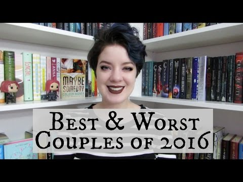 Favorite & Least Favorite Book Couples of 2016