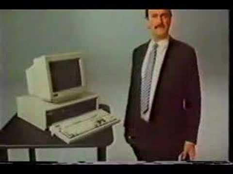 """""""I Wouldn't Watch This Commercial"""" - JOHN CLEESE Compaq Ad"""
