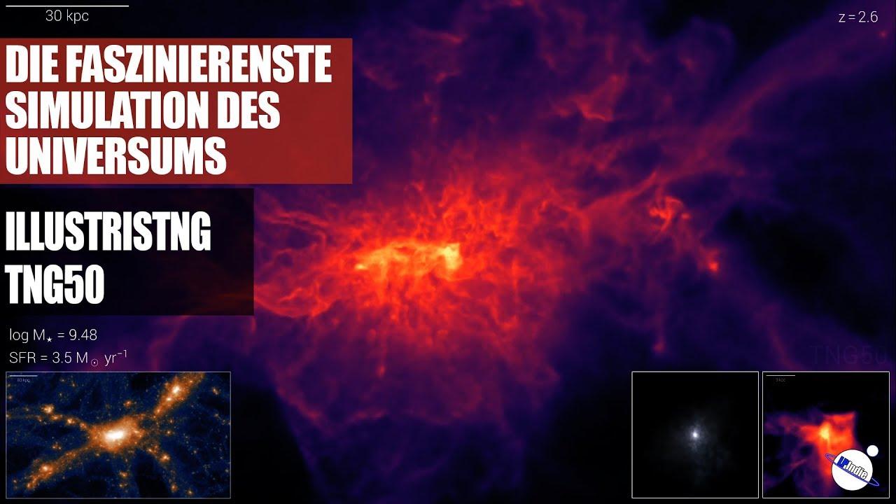 Die faszinierenste Simulation des Universums - Projekt TNG - TNG50