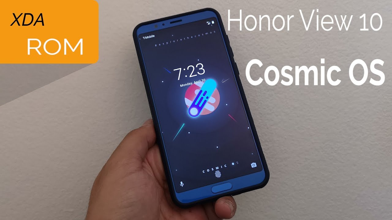 Honor View 10 Cosmic Rom Overview