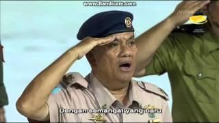 Singapore National Day Parade (NDP) 2015 National Anthem Malay (Majulah singapura) Part 2