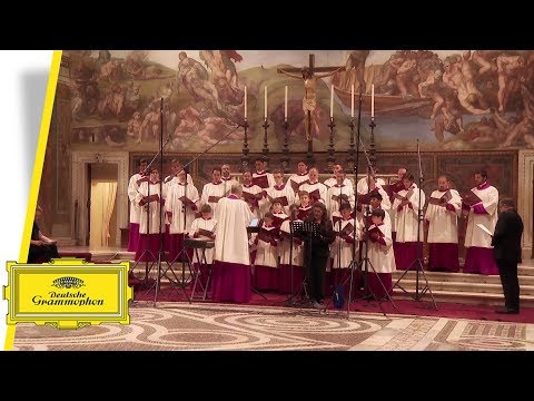 Sistine Chapel Choir with Cecilia Bartoli - Veni Domine (Interview)
