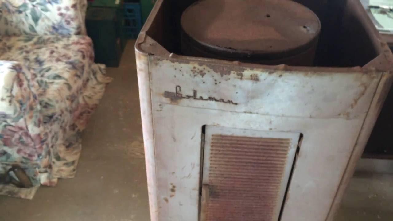 Coleman Canada Oil Furnace Junk Find 50 000 Btu S