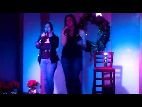 Mona and Aids Karaoke  12/2/11