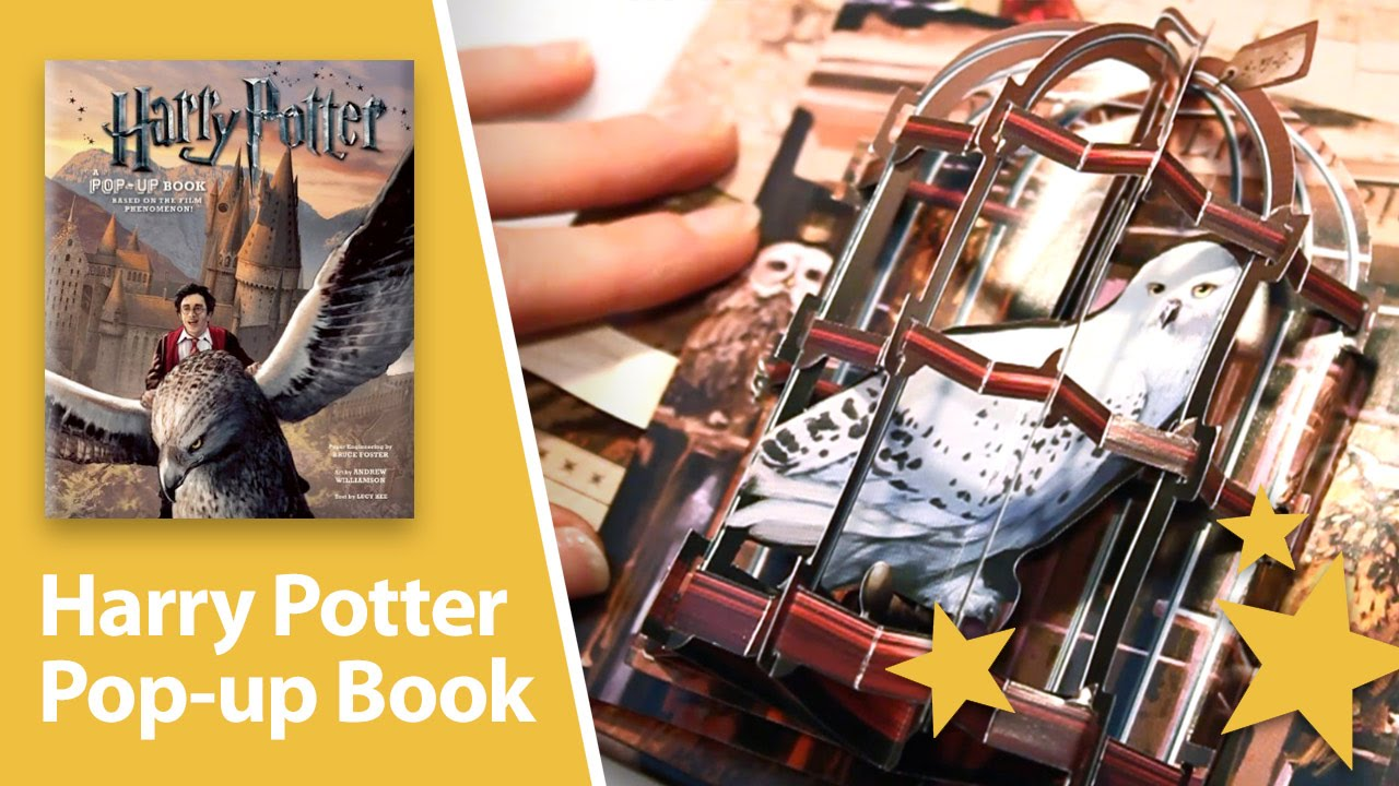 Pop Up Book Cover Harry Potter A Pop Up Book Amazing 3d Pop Ups