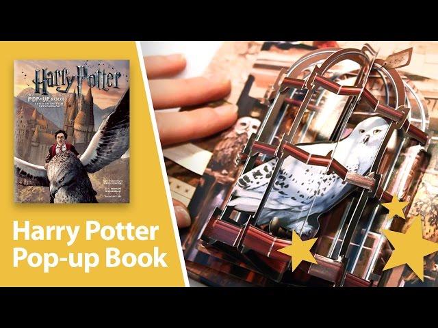 Harry Potter A Pop Up Book Amazing 3d Pop Ups Youtube