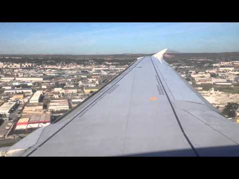 Landing at Marseille-Provence Airport