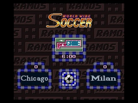Ramos Rui no World Wide Soccer | Challenge Cup | World Round 12 | Chicago vs Milan | SGCTS