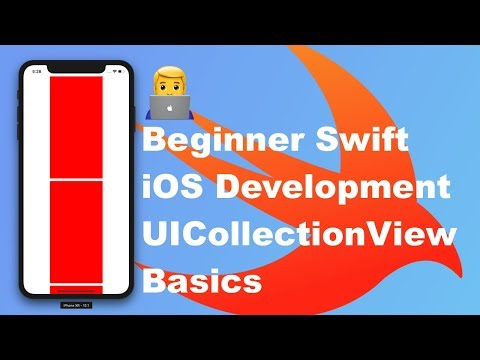 (iOS development basics) - UICollectionView in a UIViewController with Swift & Xcode thumbnail