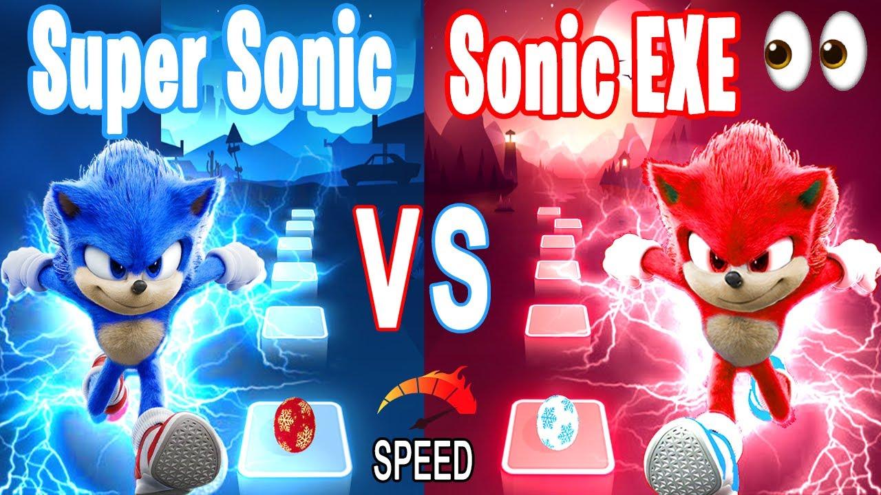 Download Super Sonic VS Sonic EXE -Tiles Hop Edm RUSH!