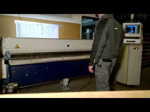 Листогиб с поворотной балкой Schroeder MPB 2500 x 2,5 mm