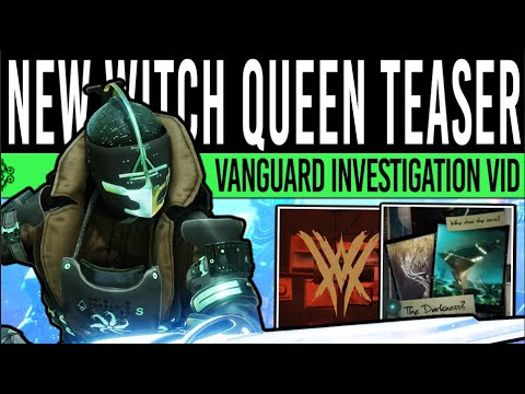 Download Destiny 2   LATEST WITCH QUEEN TEASER! Vanguard Investigation, Hive Lightbearers & The Darkness!