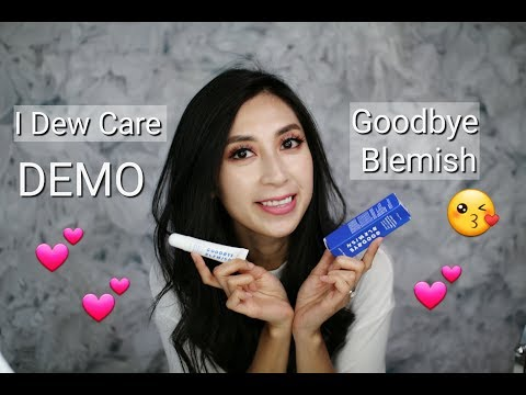 Goodbye Blemish Demo – I Dew Care x Memebox | Second Skin Makeup Shield | Minimalist Style