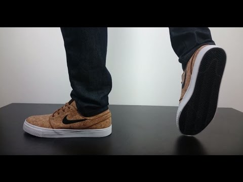 fcc125023a5f2 NIKE SB STEFAN JANOSKI ELITE CORK ale brown black white - YouTube